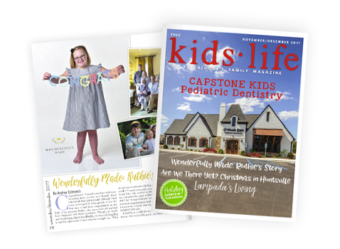 Ruthie's Story Kids Life Magazine Article