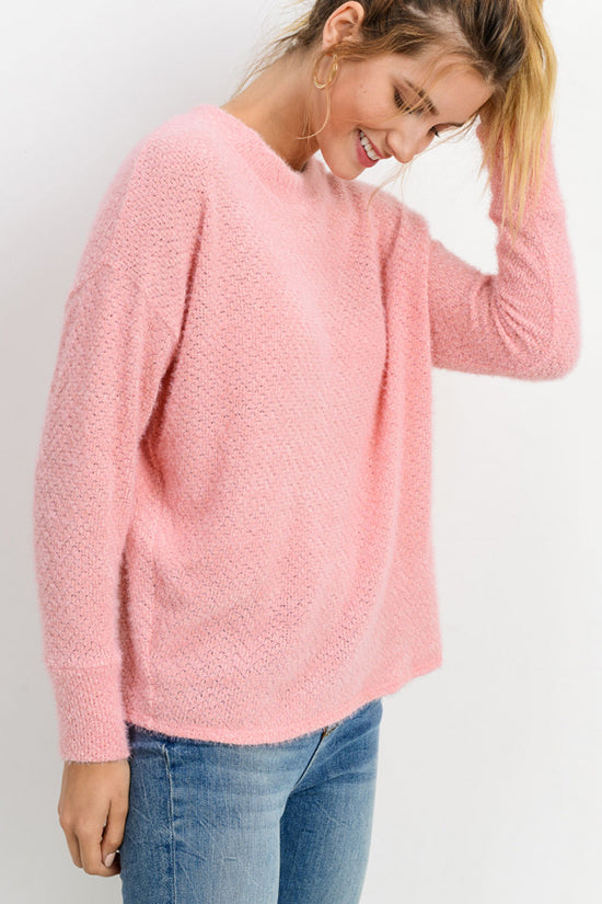 Pink Lightweight Sweater