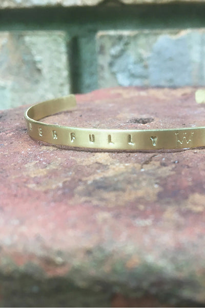 Wonderfully Made Bracelet Cuff