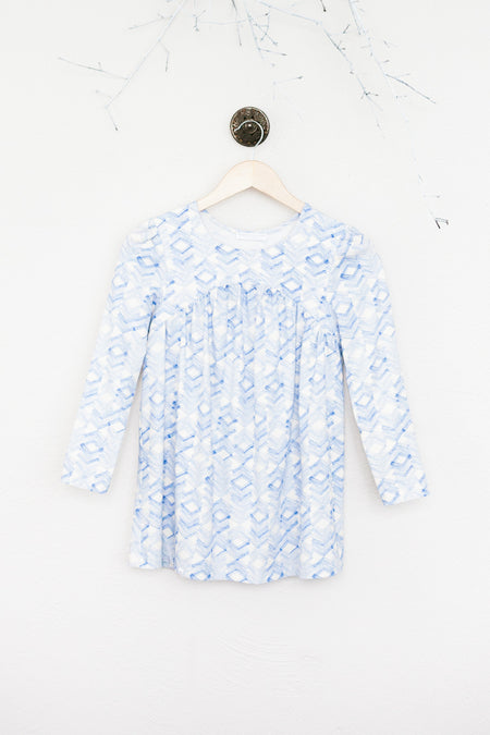 Blue/White Checked Dorothy Top