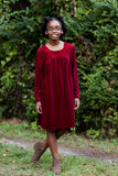Sophie Velveteen Dress
