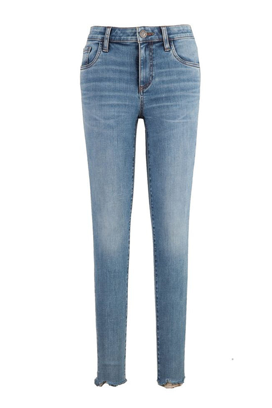 Connie High Rise Fab Ab Slim Fit Ankle Skinny