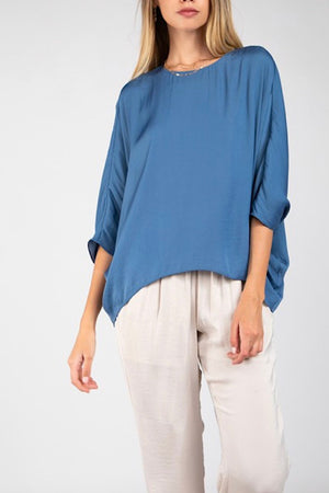 Blue Ellie Top