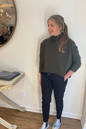 Dark Olive Kerissma Sweater
