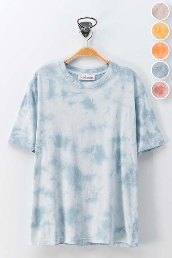 Blue Tone on Tone Tie Dye Shirt