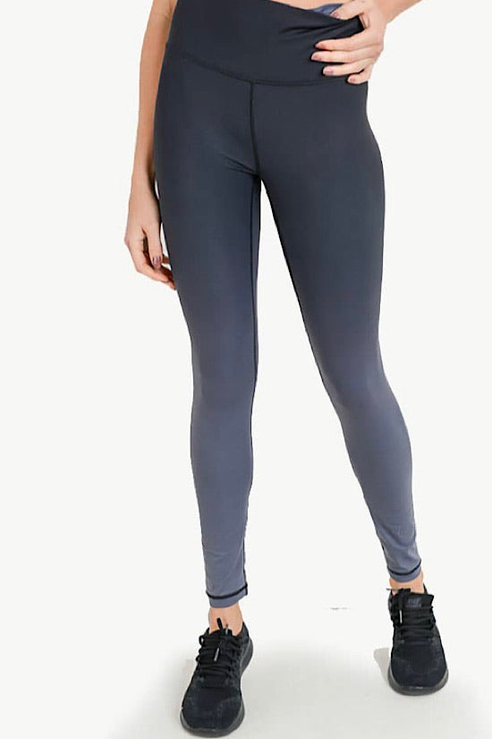 Highwaist Charcoal Ombré Leggings