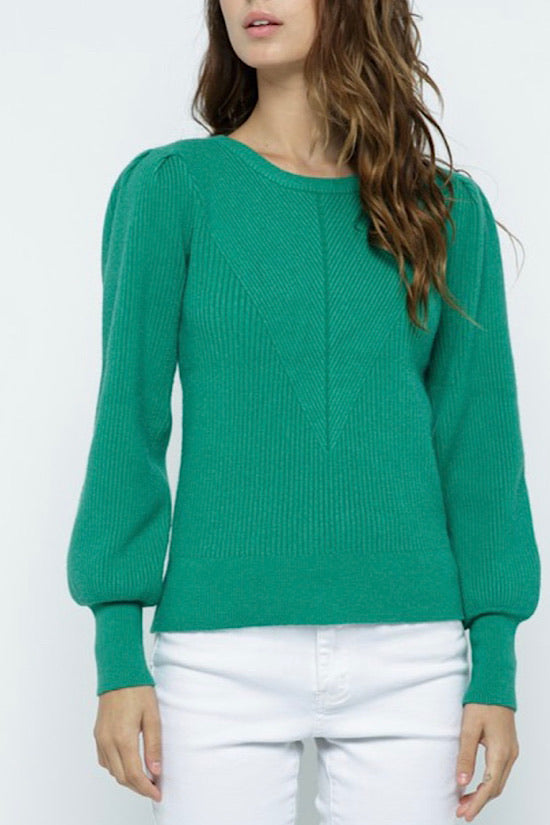 Holly Green Sweater