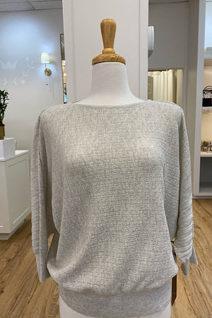 Heather Gray Yvette Top