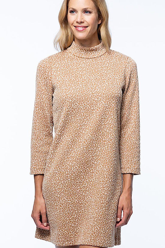 Tyler Boe Melissa Cheetah Dress
