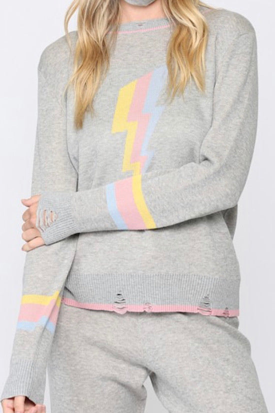 Lightening Bolt Sweater
