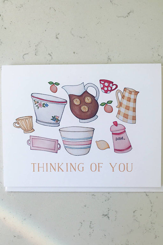 Thinking of You Winnefred Austin Greeting Card