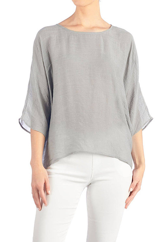 Gray Lightweight Tunic
