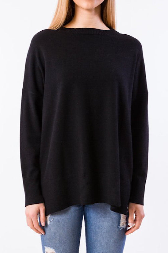 Black Kerisma Monty Sweater
