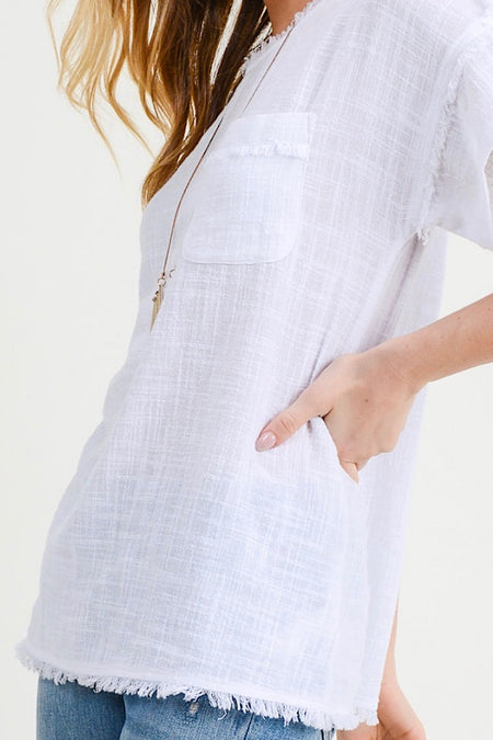RESTOCKED! Ivory Smock Neck Dress