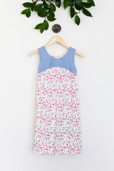 Hannah White Swiss Dot Dress