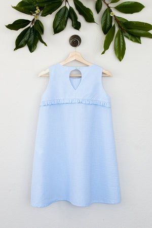 Girls Plus Seersucker Ruthie Dress