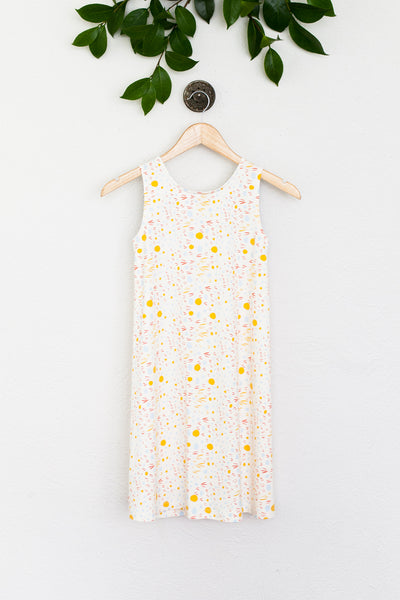 Sophie Dress - Yellow Print
