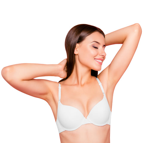 Emprella Bras for Women, 2-Pack Simple Slight Push-up Bra