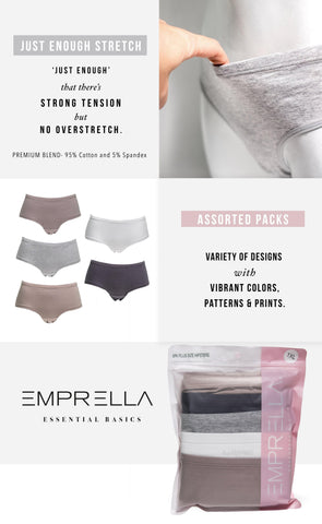 Women's Plus Size Hipsters - Emprella