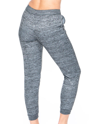 Gray Marbled Leggings - Emprella