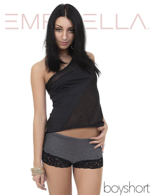 Bottom Laced Boyshorts - Emprella