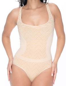 Smooth Shapewear Seamless Bodysuit Brief Cut