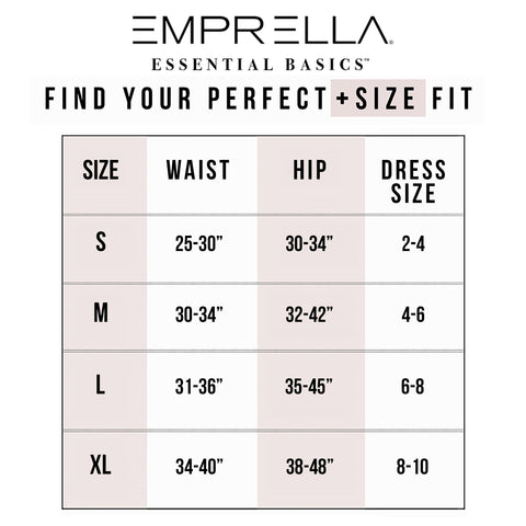 Hi-Waisted Long Leg Tummy Control Shaper - Emprella