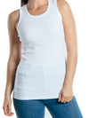 Emprella Tank Tops for Women, 100% Cotton Ribbed Racerback Tanks for Casual, Lounging, and Sports
