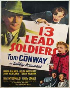 13 Lead Soldiers  (1948) #1109