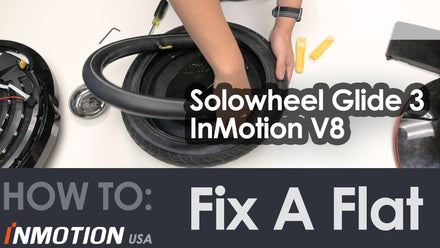 How To Fix A Flat Tire: Changing The Tire Tube On Solowheel Glide 3 Electric Unicycle