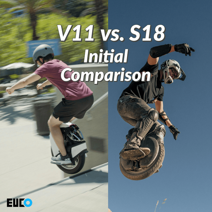 Video: V11 vs. S18 Initial Comparison