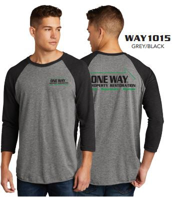 ONE WAY RAGLAN T-SHIRT