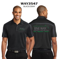 ONE WAY SILK TOUCH PERFORMANCE STRIPE POLO