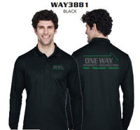 ONE WAY LONG SLEEV POLO WAY 3881