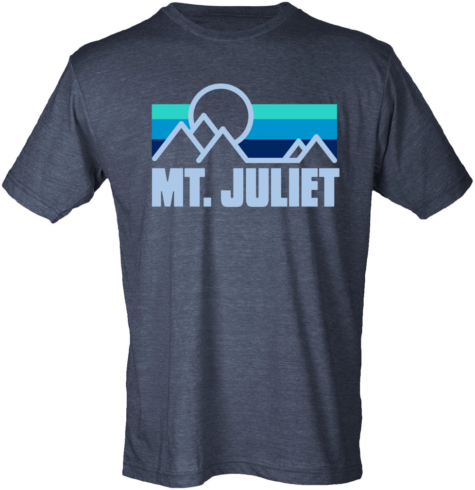 Mt. Juliet vintage Navy -Short sleeve t shirt