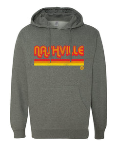 Nashville Stripes Hooded Sweatshirts