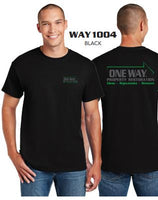 ONE WAY SHORT SLEEVE T-SHIRTS