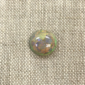 Sterling Opal 12mm Round Cabochon