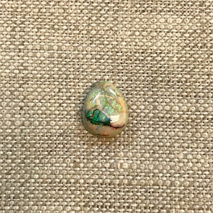 Sterling Opal 8x10mm Pear Cabochon