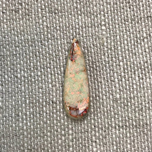 Sterling Opal 10x30mm Long Pear Cabochon