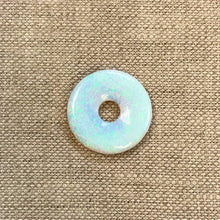 Sterling Opal 20mm Lifesaver