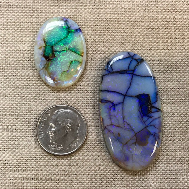 Special Price! Assorted Sterling Opal Cabochons!