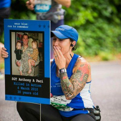 Amerithon Challenge Charity Partner, Wear Blue: Run to Remember