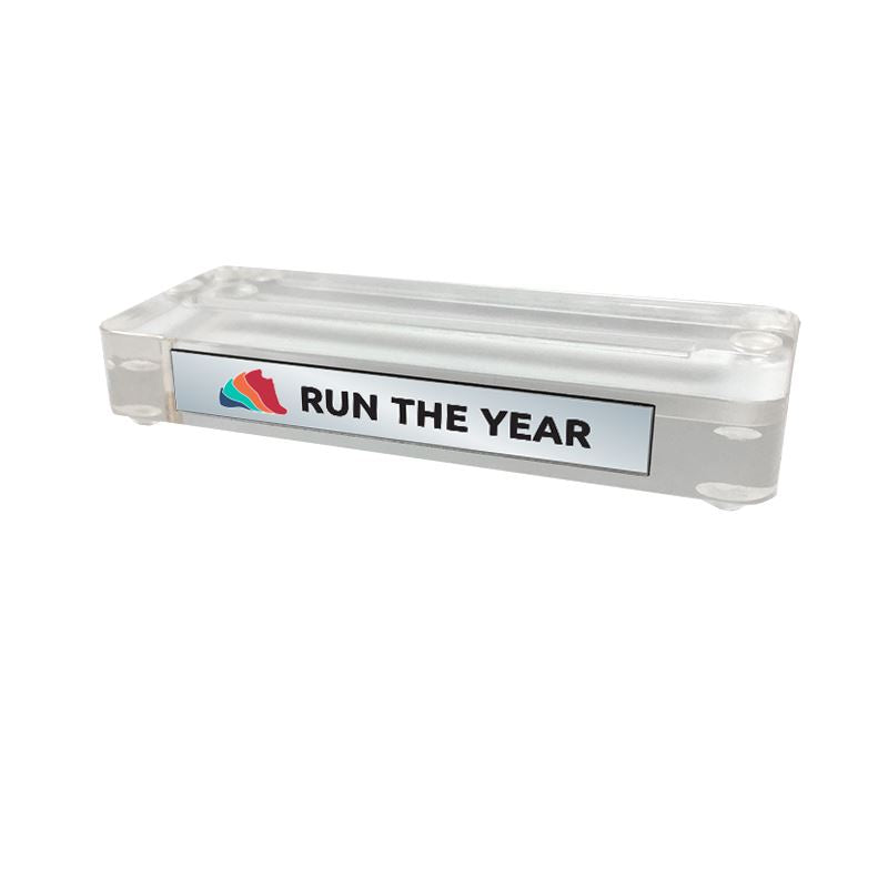 Run The Year 2019 Medal Stand Medals Run The Edge