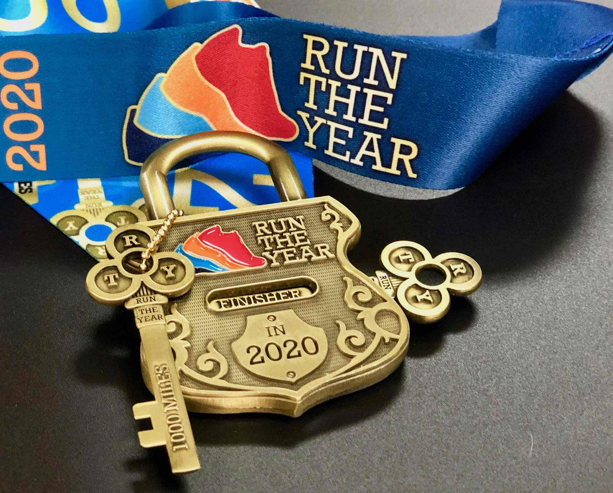 Run The Year 2020 Medal Only (No Registration!) Run The Edge Store