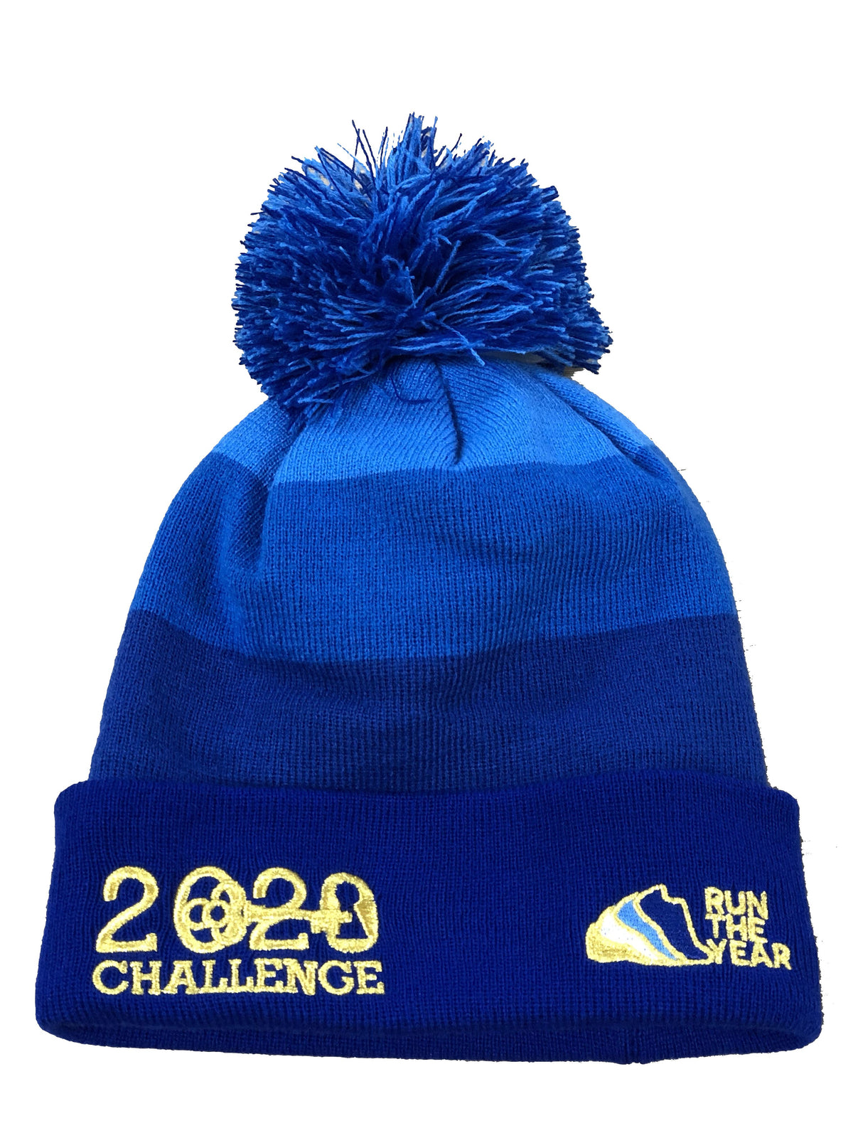 Run The Year 2020 Pom Pom Beanie Accessories Run The Edge