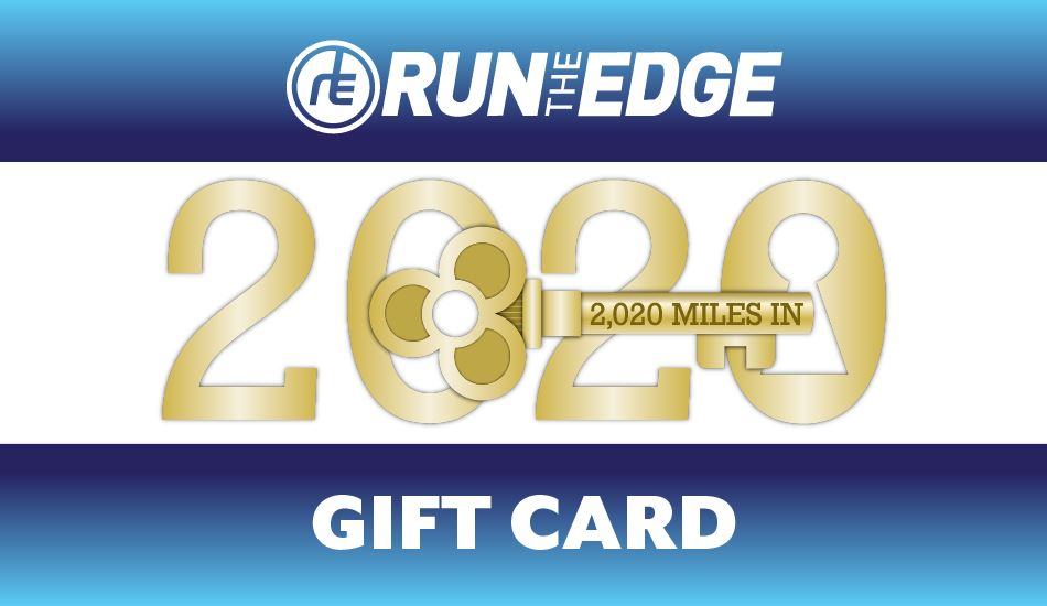 Run The Year 2020 Basic Registration Gift Card gift card Run The Edge
