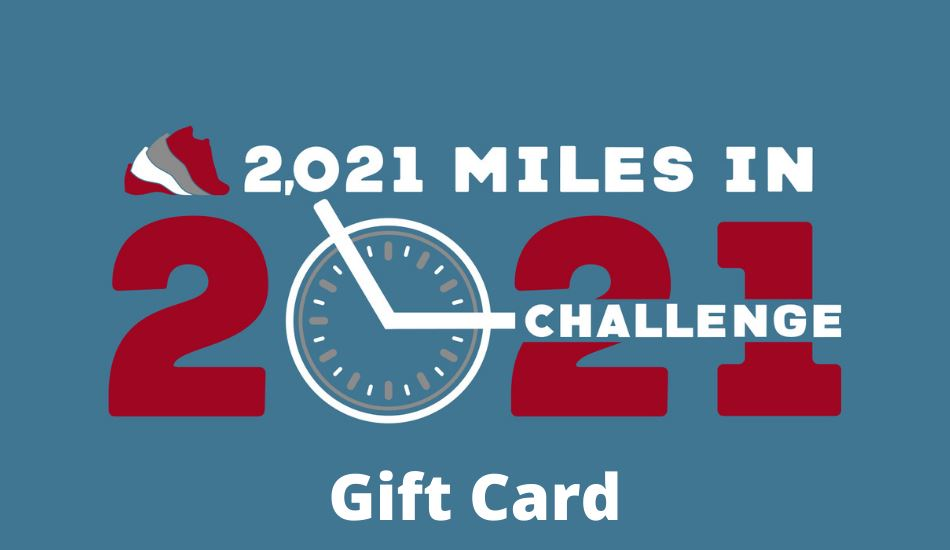 Run The Year 2021 Basic Registration Gift Card gift card Run The Edge