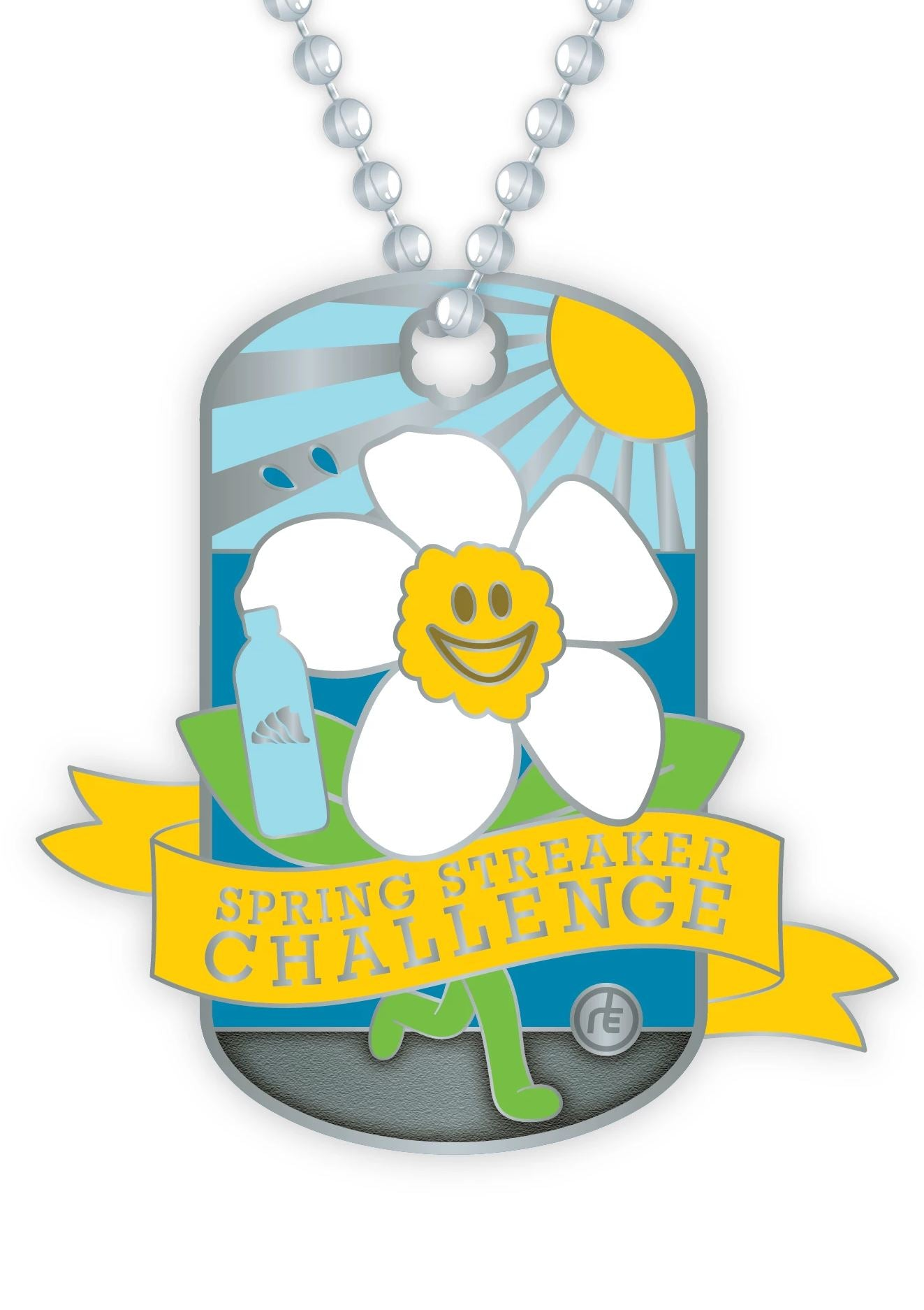 2020 Spring Streaker Dog Tag Medals Run The Edge Store