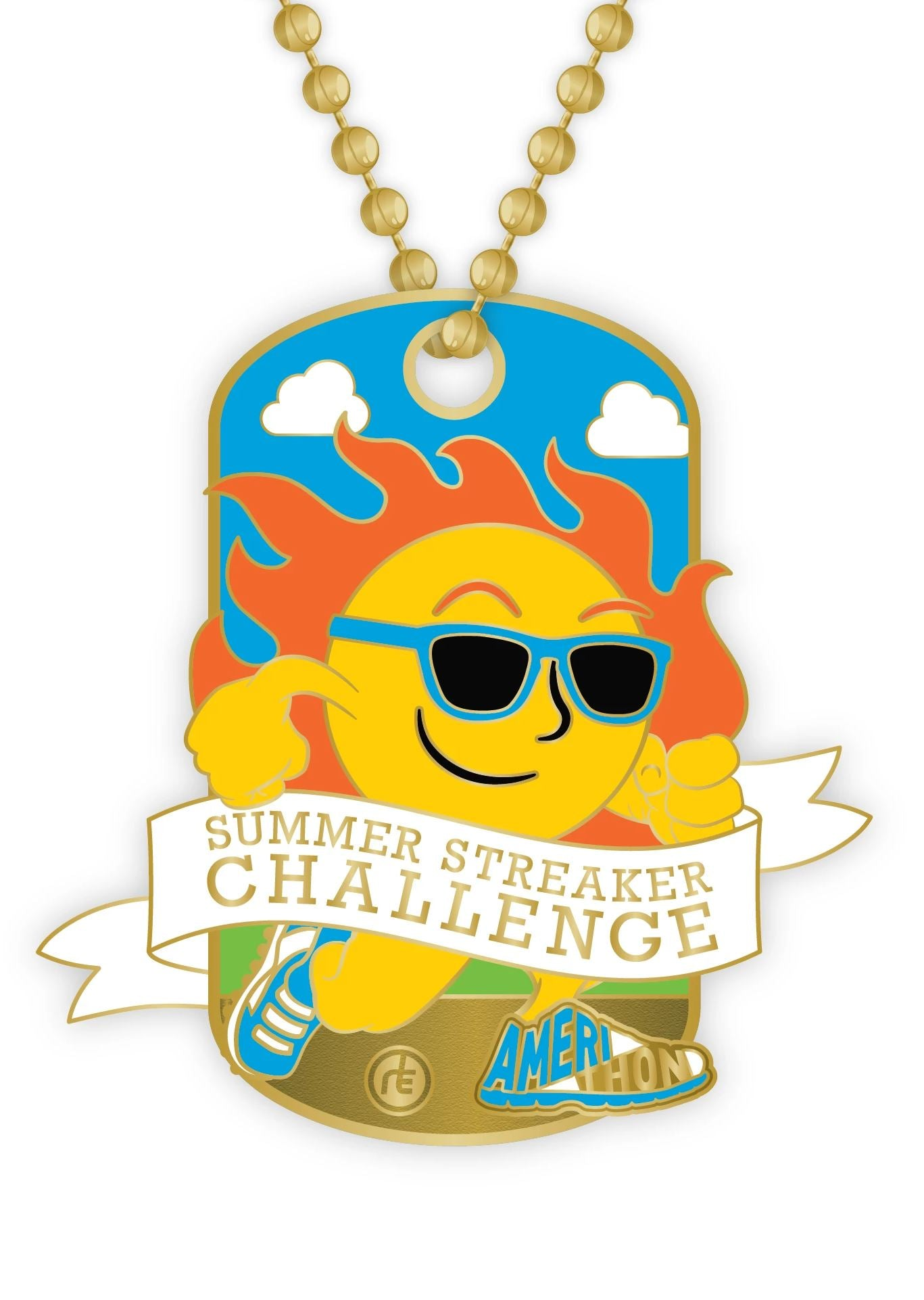 2020 Summer Streaker Dog Tag Medals Run The Edge Store